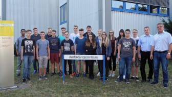 Ausbildungsstart beim Bayernwerk in Oberfranken