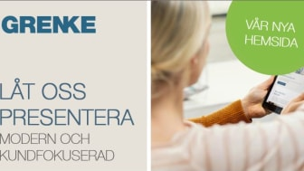 GRENKE lanserar ny hemsida och ny varumärkesprofil i Sverige