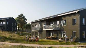 Riksbyggen byggstartar 40 bostadsrätter på Hammarö, Karlstad