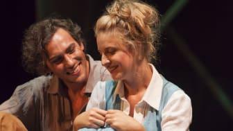 Ein junger Faust, ein junges Gretchen: Bernhard Glose und Elena Conradt