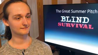 Gymnasieingenjören Noah Molteberg Lundén vann pris för sitt zombie-spel utvecklat för synnedsatta