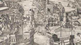 Blodbadstavlan beställd i propagandasyfte av Gustav Vasa 1524. Wikipedia.