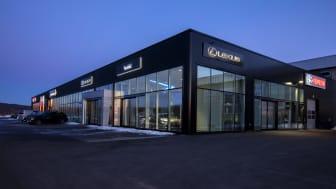 Toyota Bilia og Lexus-anlegg i Tønsberg.