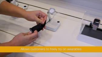 VIDEO: InVue W1000 för smarta klockor