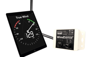 WindSense from Digital Yacht - a new wireless wind system for iPads and tablets