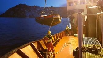 Utsetting av arbeidsbåt