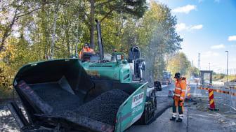 Peab Asfalt vinner asfaltkontrakt i Nässjö kommun
