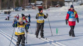 Svenska Skidförbundets satsning Alla på snö aktiverar barn och ungdomar över hela Sverige. Foto: Bildbyrån.
