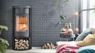 Braskamin Contura 620 Style med värmemagasin