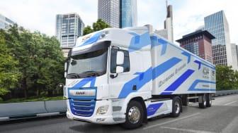 DAF Trucks tar nästa steg inom elektriska drivlinor genom att fördubbla räckvidden i DAF CF Electric till över 200 kilometer.