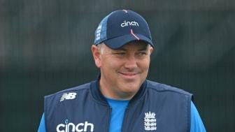 England Men's Head Coach Chris Silverwood (Getty Images)