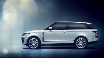 Range Rover SV Coupé får debut i Geneve