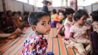 Die Situation für Kinder der Rohingya-Flüchtlinge in Bangladesch wird nach Angaben der SOS-Kinderdörfer immer auswegloser. Foto: Rehman Asad 2019 (Bild nur zur Verwendung im Kontext der SOS-Kinderdörfer weltweit)