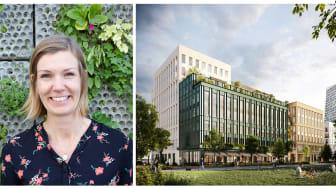 - Vi har valt att kalla Kvartetten för en människocertifierad arbetsplats, säger Ida Lejdström, fastighetschef på Wihlborgs.