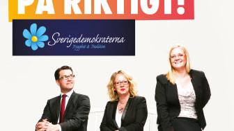 Sverigedemokraterna presenterar valmanifest klockan 14
