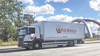 Widriksson logistik börjar köra för Textilia den 31 augusti.