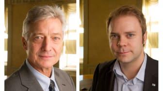 Per Sjöhult, vd, och Erik Haara, förhandlingschef, Glasbranschföreningen