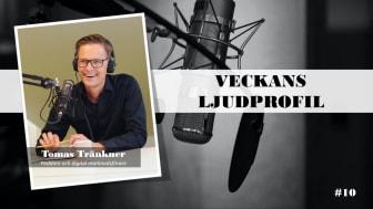 Veckans ljudprofil - Tomas Tränkner