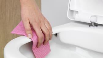 Hygienic Flush från Gustavsberg – enklare rent med smartare spolning