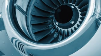 Flygplansmotor, genrebild. Foto: Shutterstock