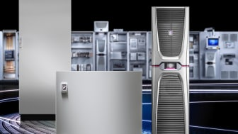 Rittal kompaktapparatskåp AX och smålådor KX öppnar nya möjligheter till värdeskapande med Industri 4.0.