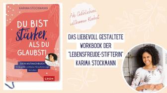 Lebensfreude-Stifterin Karima Stockmann zeigt wie wir mit Glück und Zuversicht durchs Leben gehen