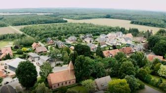 Rekord-Digitalisierung in Fladderlohhausen: Hier wurde innerhalb von 24 Stunden ein komplettes FTTH-Glasfasernetz von Deutsche Glasfaser ausgebaut.
