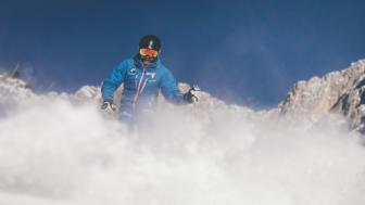 64 Pistenkilometer und beste Schneeverhältnisse machen den Stubaier Gletscher zum optimalen Testgebiet.
