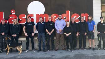 Gänget som utgör Låssmeden i Norrköping blir en del av Prosero Security Group.