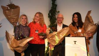 Victoria Bignet, Line Gordon, Brent Loken och Maya Rebermark.