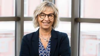 Annica Lindgren, affärsutvecklare på BizMaker, coachar företag i regionen som drabbats hårt av coronakrisen.