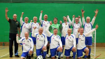 Walking football Relics score with new sponsorship deal
