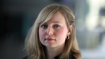 Jenny Jarlsdotter Wikström, doktorand, Institutionen för kultur- och medievetenskaper Foto: Per Melander
