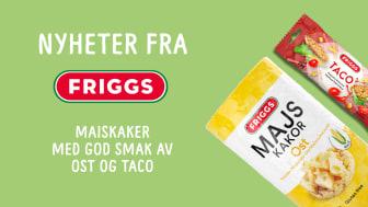 Nyhet: smaksfavoritter fra Friggs!