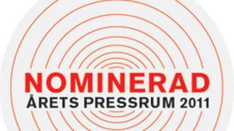 Thermotech nominerade till Årets Pressrum 2011