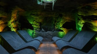 The Forest Cavern - a unique new experience at Aqua Sana Longleat Forest