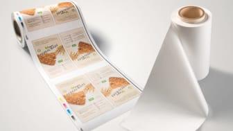 Pappersbaserat och komposterbart material kan ersätta traditionella plastförpackningar inom livsmedel.