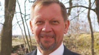 Mats Granath, Lions ordförande, som är från Nacka, utanför Stockholm.