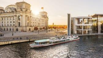 Berlin: Båttur på elven Spree