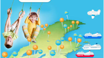 VisitSweden lyfter Gold of Lapland och världens längsta linbana i finsk sommarkampanj