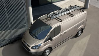Ford Transit Custom blir første gang vist på den internasjonale nyttekjøretøyutstillingen i Birmingham