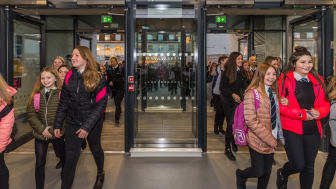 Moray Council's brand new Elgin High School opens its doors to students