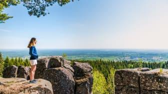 Utsikt i naturreservatet Rånna Ryd i Skövde kommun. Foto: Jesper Anhede
