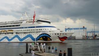 AIDA in Kiel.Sailing.City