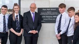 MSP JOHN SWINNEY_ELGIN HIGH SCHOOL OPENING_22 OCTOBER 2018_ A9S08425-Edit