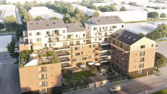 Attendo bygger livsstilsboende i centrala Uppsala