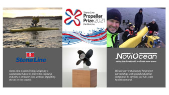 Novige AB have been announced as the winner of the Stena Line Propeller Prize 2021.