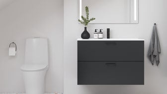 Kylpyhuoneeseen saa tyylikkään muutoksen pelkästään vaihtamalla kalusteet, sillä ne vaikuttavat olennaisesti tilan tunnelmaan ja myös arjen sujuvuuteen.