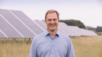 Johan Skördare, VD på Energiengagemang har utsetts till Årets företagare i Strängnäs