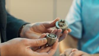 3D-printede låsebolte